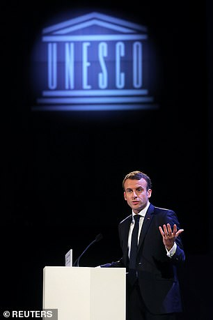 Emmanuel Macron first put forward the idea of a European army last week, saying it was necessary to