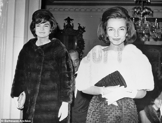 The First Lady of the land, Mrs. Jacqueline Kennedy, and her sister, Princess Lee Radziwill (right) were considered the world