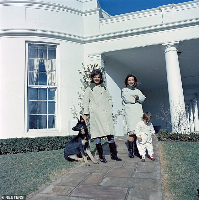 The competition reach a tumultuous crescendo in 1961, when Jackie became the First Lady after John F Kennedy