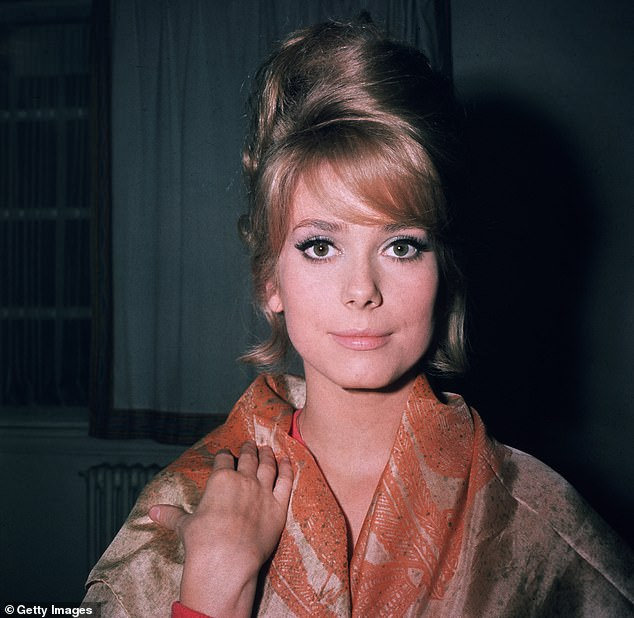 Deneuve in 1961, she made her screen debut with a small part in The Twilight Girls in 1957