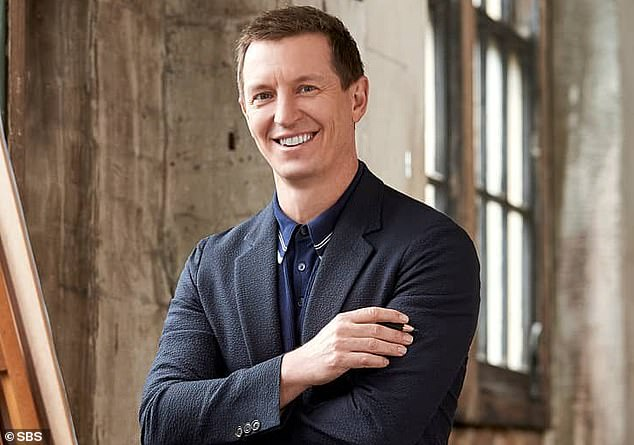 From the family: Rove McManus (pictured) shared a touching message to the couple on behalf of himself, his wife Tasma Walton and their daughter Ruby