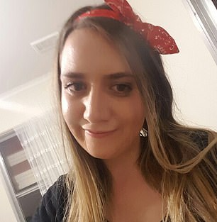 Courtney Herron, 25, (pictured) was bludgeoned to death in Melbourne