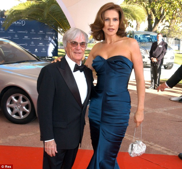 Slavica Ecclestone marked her big 5-0 by cutting loose from husband Bernie.