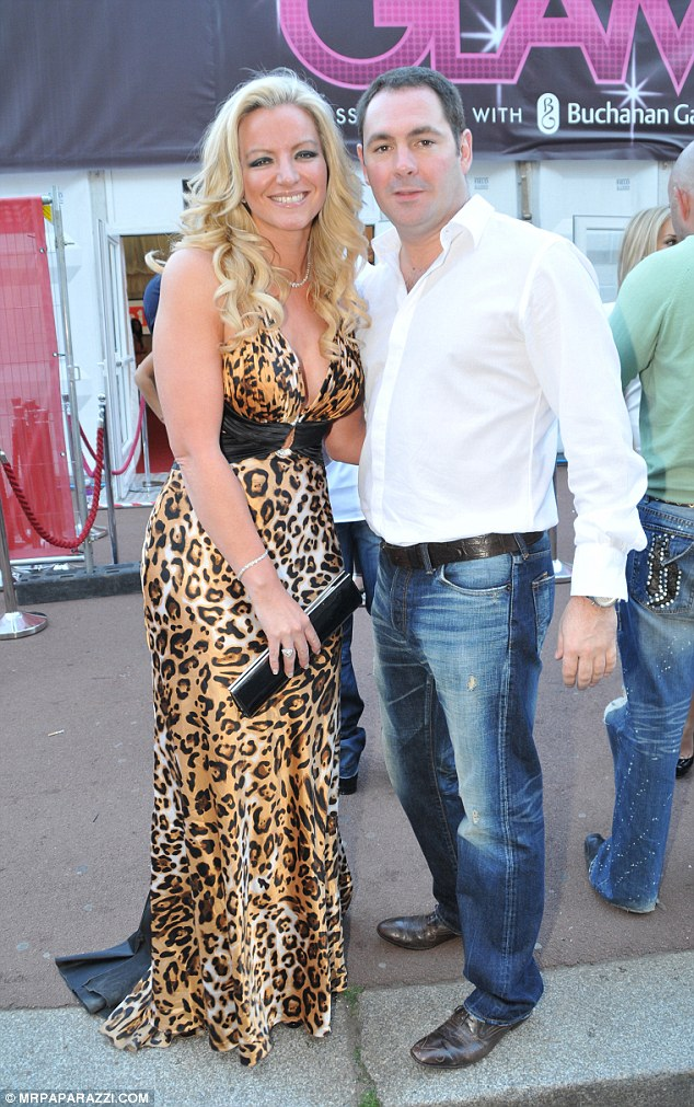 Bitter split: The lingerie queen and her former business partner, Michael Mone (pictured in 2010) ended their 20-year marriage with a bitter divorce in 2011 when Michelle accused Michael of being unfaithful with Ultimo designer, Samantha Bunn