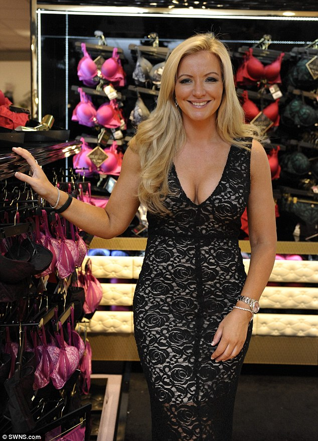 In a happy place: Ultimo Boss Michelle Mone has congratulated her ex-husband on his engagement to the woman she accused him of cheating on her with
