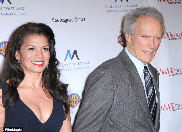 Eastwood and his ex-wife Dina (above) split in 2013