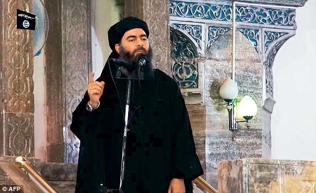 ISIS leader Abu Bakr al-Baghdadi (pictured), described by Time as a