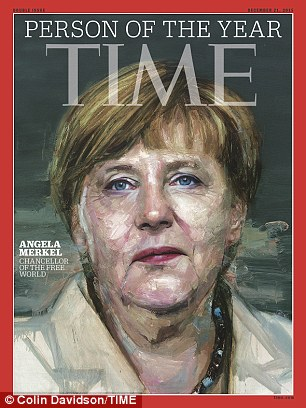 German leader Angela Merkel has been named Time Person of the Year