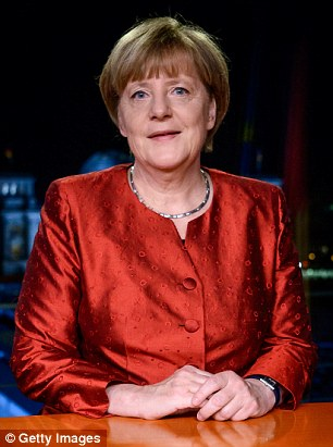 Angela Merkel told Germans the influx of more than a million refugees should be welcomed as an