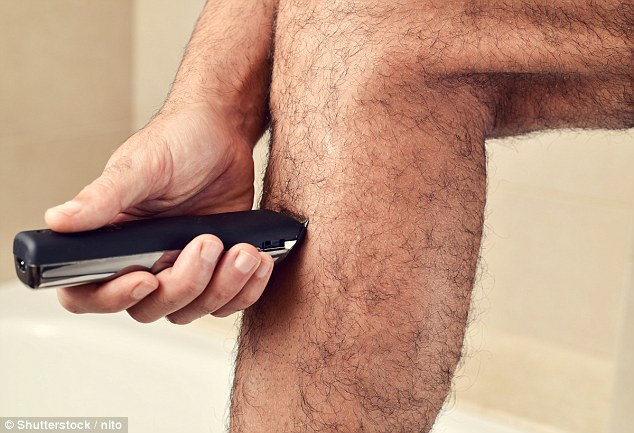 Would you? Could you? The surprising new study has concluded that almost half of modern-day men are now shaving their legs - be it with a razor or trimmers