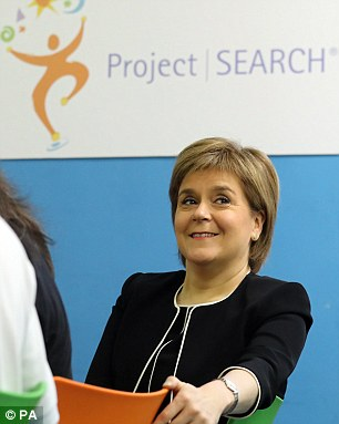 Ms Sturgeon is keener on impressing Frau Merkel than the president-elect