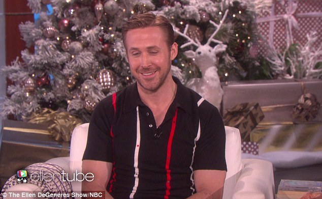 Festivities: On Friday, Ryan visited The Ellen DeGeneres Show to speak about the upcoming holidays with his three girls