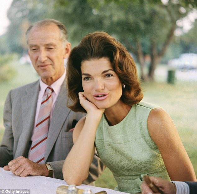American icon: Jackie Kennedy (pictured in the 1960s) perhaps the U.S.