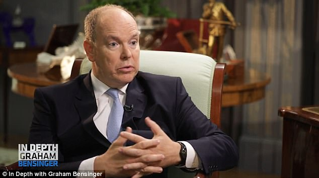 Prince Albert of Monaco, 59, opened up about the death of his mother Grace Kelly on In Depth with Graham Bensinger