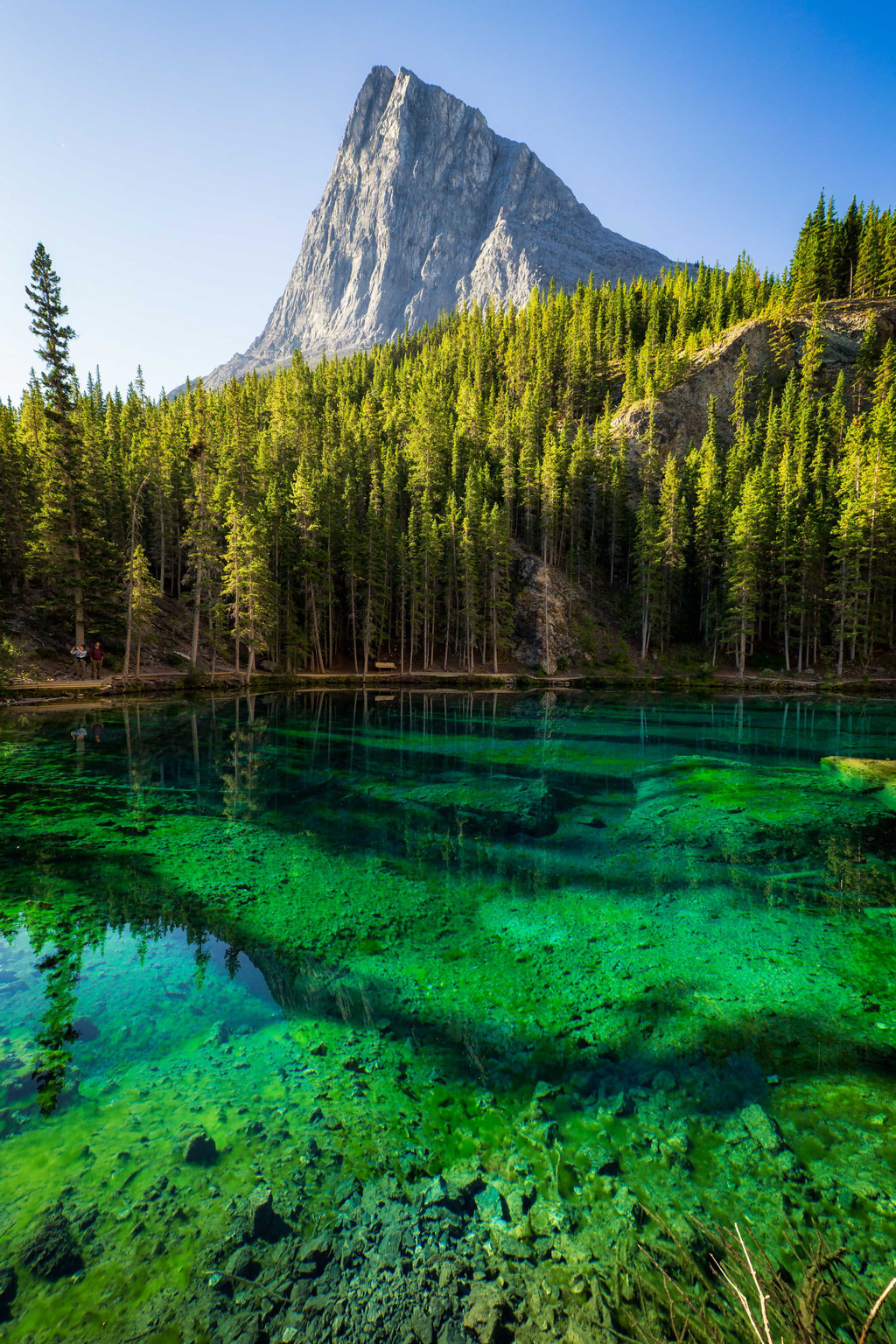 Grassi Lakes near Canmore