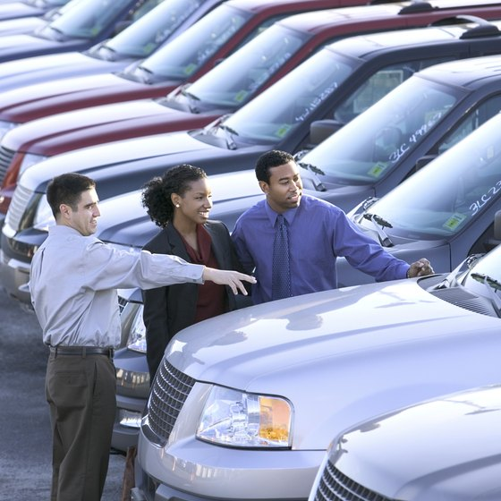 Car dealers track their vehicles using the specific identification inventory method.