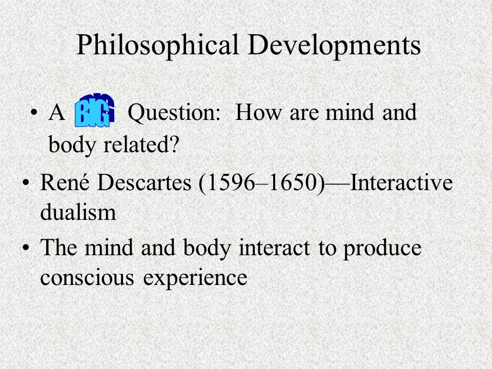 Philosophical Developments